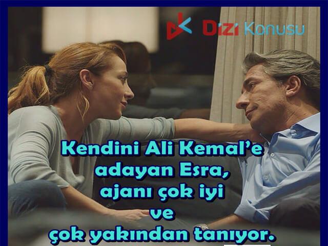 Esra, Ali Kemal'i Yakından Tanıyor.