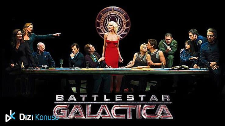 En İyi Yabancı Bilim Kurgu Dizileri Battlestar Galactica